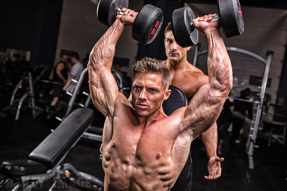 Steve Cook Muscle and Fitness Magazine – Fitness