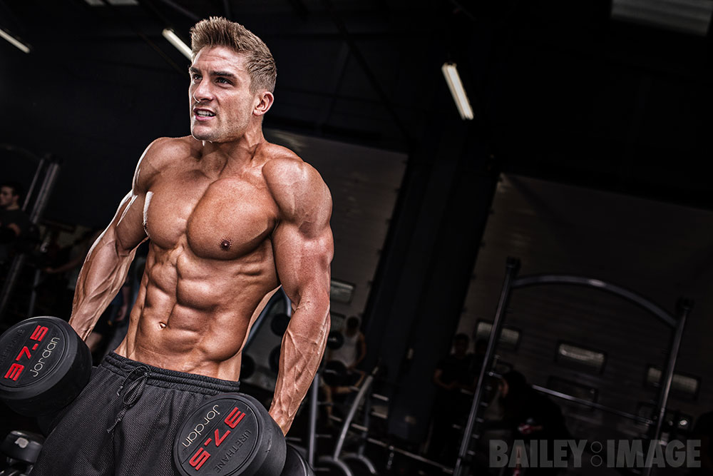 Ryan Terry Shoulder Workout