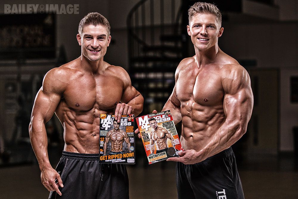 Steve Cook & Ryan Terry Muscle and Fitness Magazine