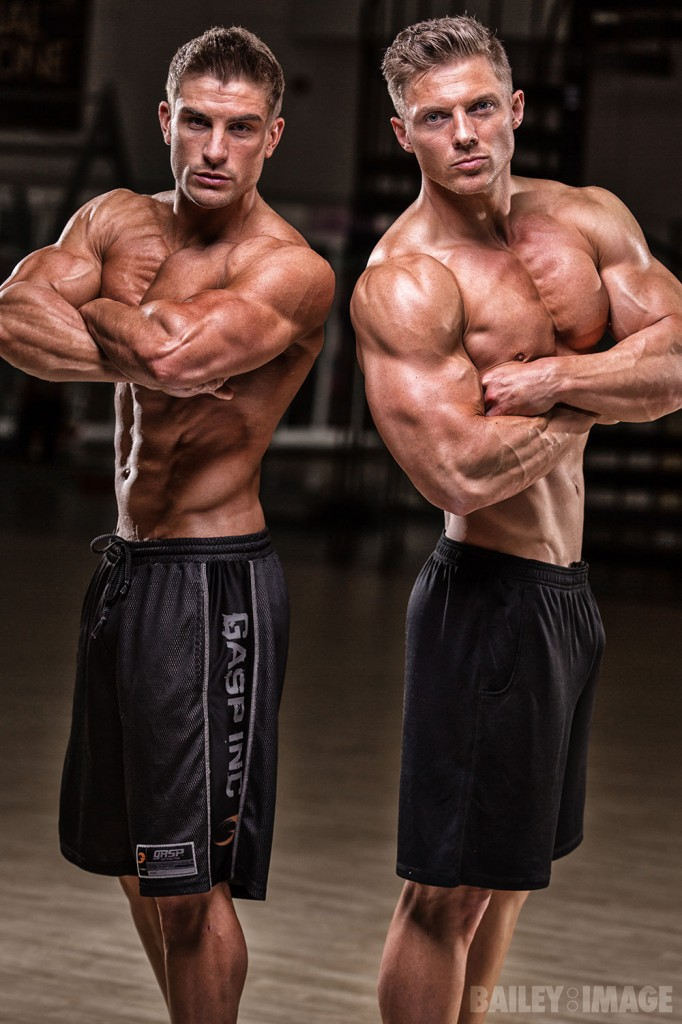 Ryan Terry and Steve Cook