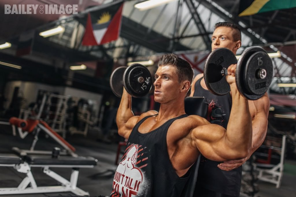 Bodybuilding Photographer - Christopher Bailey