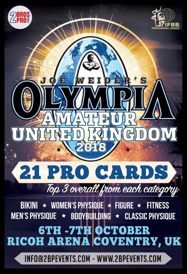 2Bros Amateur Olympia